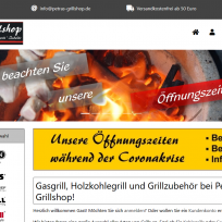 Onlineshop für Grill mit modified-shop.org
